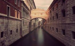 Venice, Ponte dei Sospiri Stock Photography