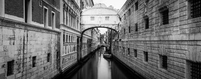 Venice - Ponte dei Sospiri. One of the most famous landmark in Venice, Ponte dei Sospiri Royalty Free Stock Photography