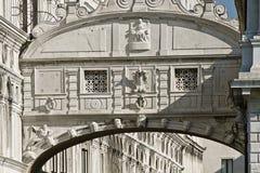 Venice, ponte dei sospiri & x28;bridge of sighs& x29; Royalty Free Stock Photos