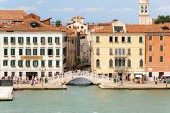 Venice Ponte del Sepolcro Stock Photography