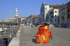 Venice port peaceful morning view Italy Stock Photography