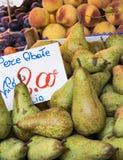 Venice Produce Market Royalty Free Stock Image
