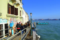 Venice promenade Stock Photography