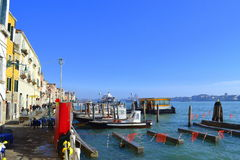 Venice promenade Royalty Free Stock Photo