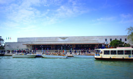 Venice Railway station Royalty Free Stock Image