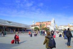 Venice Railway Station Stock Photo