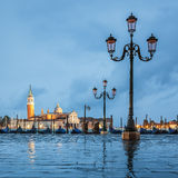 Venice and rain Royalty Free Stock Photography