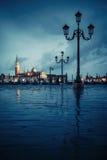 Venice on rainy day Royalty Free Stock Image