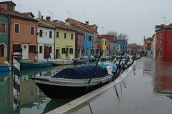 In Venice rainy day Stock Images
