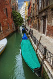 Venice on a rainy day Stock Photo