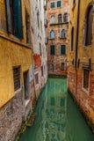 Venice on a rainy day Royalty Free Stock Photo