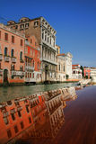 Venice in reflection Stock Photos