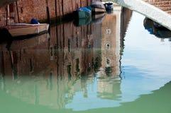 Venice reflections Royalty Free Stock Photography