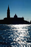 Venice reflections on the sea Stock Photo