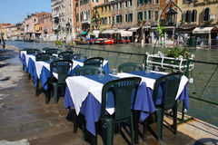 Venice restaurant Stock Images