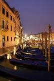 Venice The Rialto Bridge Stock Photo
