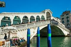 Venice, Rialto Bridge. Stock Photography