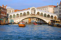 VENICE RIALTO BRIDGE Royalty Free Stock Photography
