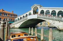 Venice Rialto Bridge Stock Images