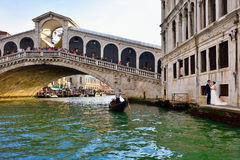 Venice, Rialto bridge Royalty Free Stock Image