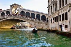 Venice, Rialto bridge Royalty Free Stock Image
