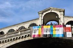 Venice, Rialto Bridge Royalty Free Stock Images
