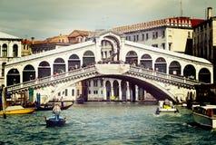 Venice, Rialto bridge Royalty Free Stock Photo