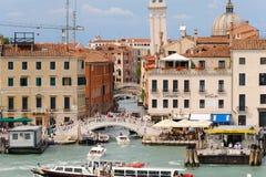 Venice Rio dei Greci canal Stock Image