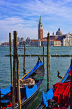 Venice, the romantic town in Italy Royalty Free Stock Photo