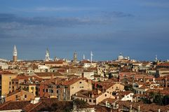 Venice from roof Stock Photos