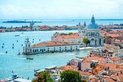 Venice roofs from above Stock Photography