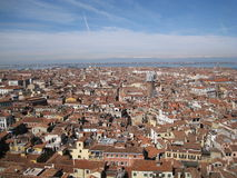 Venice Roofs Stock Image