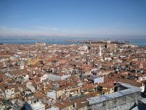 Venice Roofs Stock Photography