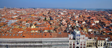 Venice roofs, in Venice, Veneto, Italy Stock Photos