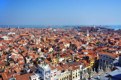 Venice roofs, in Venice, Veneto, Italy Stock Image