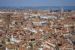 Venice roofs Stock Photos