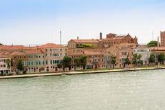 Venice S. Biagio fondamenta Royalty Free Stock Images