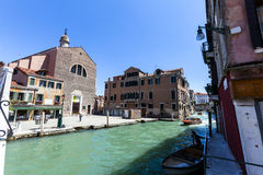 Venice's church Stock Photography