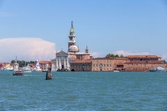 Venice's church Stock Images