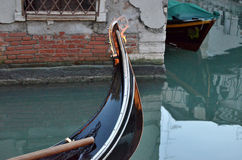 Un giro in gondola. A venice's gondola royalty free stock photography