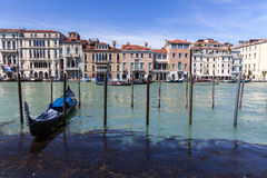 Venice's sea Stock Image