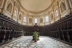 Venice: Saint George church choir Stock Photo