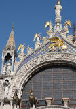 Venice: Saint Mark detail Royalty Free Stock Image