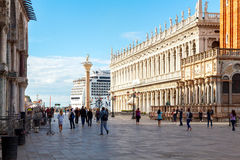Venice. Saint Mark's Square Royalty Free Stock Photo