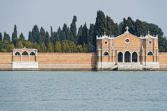 Venice: Saint Michel cemetery Royalty Free Stock Photos
