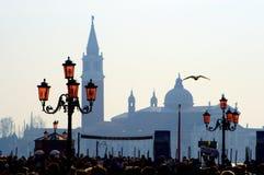 Venice - San Giorgio church Stock Images