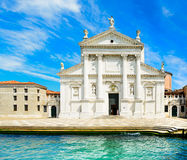 Venice, San Giorgio Church, Giudecca island, Grand Canal, Italy Royalty Free Stock Photo