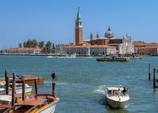 Venice - San Giorgio Maggiore Island Stock Photography