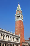 Venice, San Marco Bell Tower Royalty Free Stock Photos