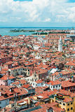 Venice from San Marco bell tower, Italy Royalty Free Stock Photos